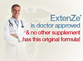 ExtenZe is doctor approved & no other pill has this original formula!
